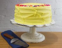 Buttercup Golden w/ Vanilla Icing