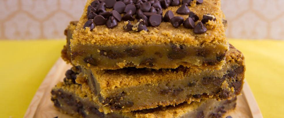 Chocolate Chip Cookie Bars – Dozen
