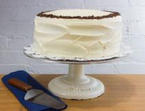 Classic Chocolate Cake w/ Vanilla Icing