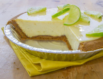 Gingersnap Lime Pie