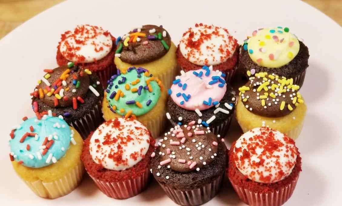 Assorted Mini Cupcakes | Buttercup Bake Shop  |Miniature Bakeries